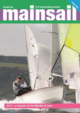 Membership and Mainsail, the GP14 Association Magazine