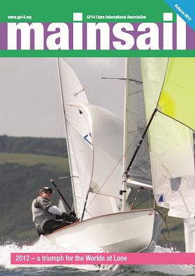 Membership and Mainsail, the GP14 Association Magazine