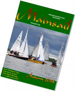 Mainsail - GP14 Association Magazine