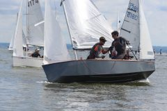 Event winners Gingerboats' Andy Smith and Phil Hodgkins