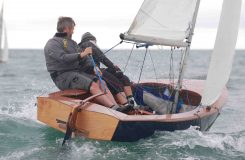 Simon Cully and Libby Tierney upwind