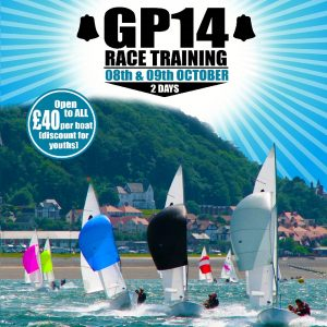 GP14 LLandudno Training Poster 2016
