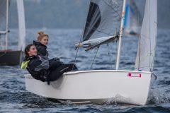3rd overall at the GP14 EoS Meg Hicklin and Hayley Ramadhar