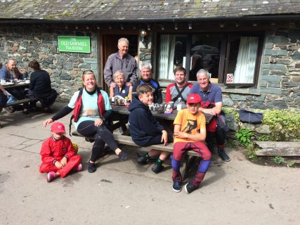 Cruising group photo at Bassenthwaite