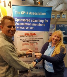 Dinghy Show 2018 Winning Sweepstake Ticket