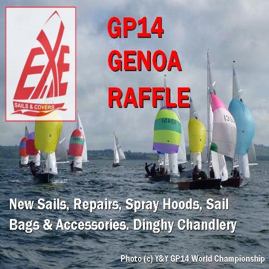 Exe Sails Genoa Raffle