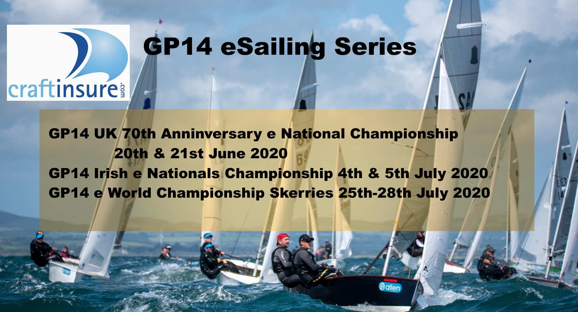 GP14 eSailing Series 2020